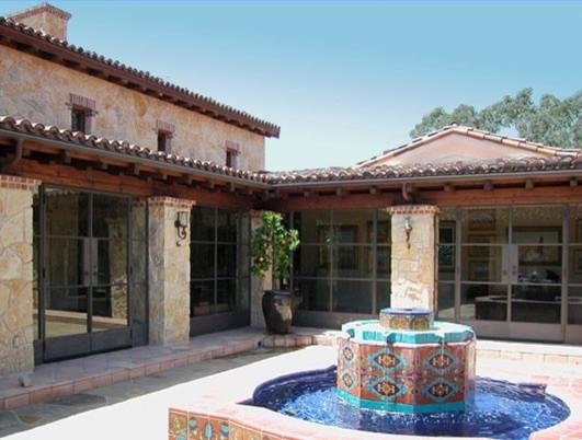 Nicholas Residence, Rancho Santa Fe mediterranean-exterior