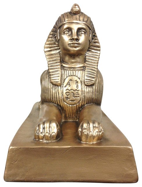 Historical ancient statue from egypt large egyptian sphinx