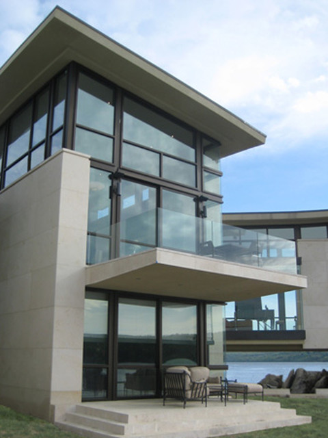 Glass Railings And Guard Rails Contemporary New York
