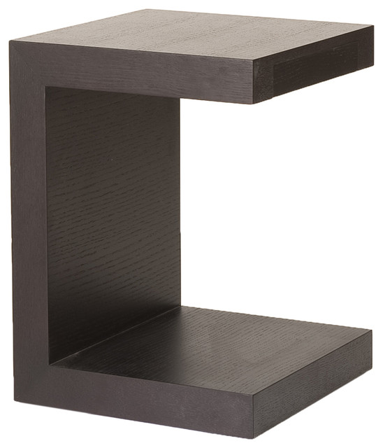 Sidona Side Table Wenge Contemporary Side Tables And