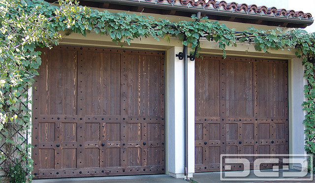 Spanish Garage Doors, Custom Designed & Handcrafted by Dynamic Garage Door of CA mediterranean garage doors