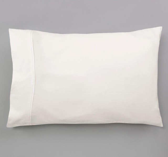 Dwell Studio Pintuck Pearl Pillow Case traditional-bed-pillows