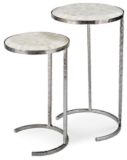 Regina Andrew Bone Veneer Nested Tables contemporary-side-tables-and-end-tables
