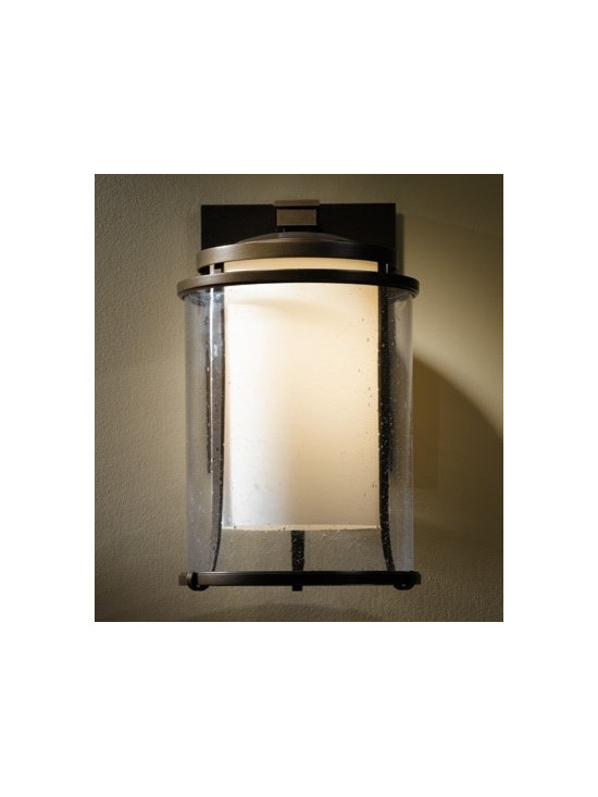 Double Glass Transitional Sconce -