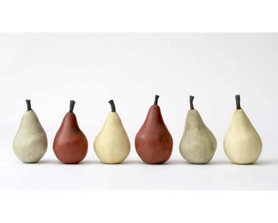 Red Pear by Element Clay Studio -
