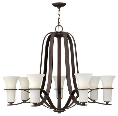 Lauren Victorian Bronze Seven-Light Chandelier modern-chandeliers