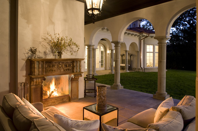 Outdoor Loggia mediterranean 