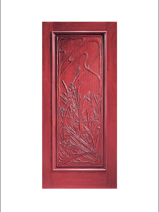 Carved and Mansion Entry Doors Model # 7 -