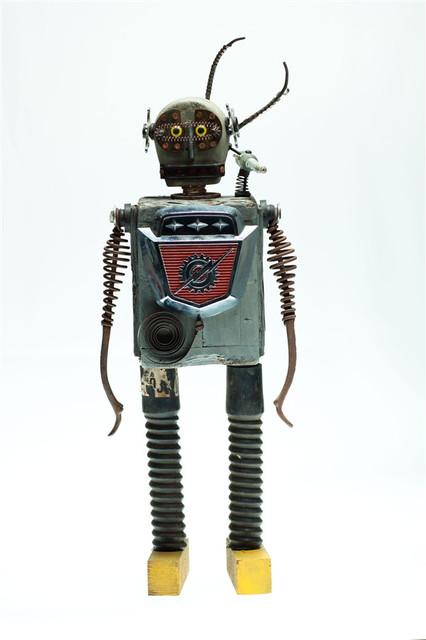 Kent Greenbaum Bannon-R799 Robot eclectic-artwork