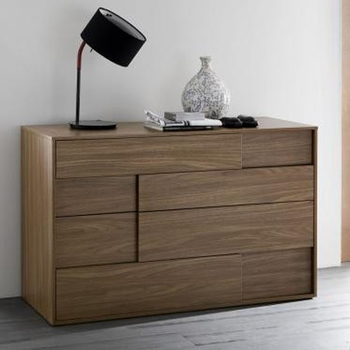Rossetto Furniture - Square Walnut Dresser - 411000000001D contemporary-dressers