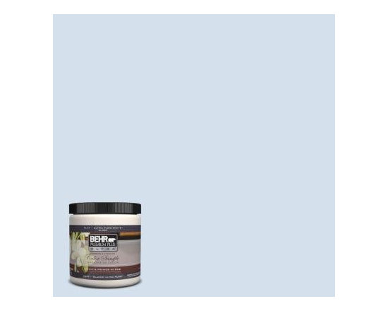 Raindrop Interior/Exterior Paint - Behr Premium Plus Ultra in Raindrop is the perfect shade of soothing gray-blue.