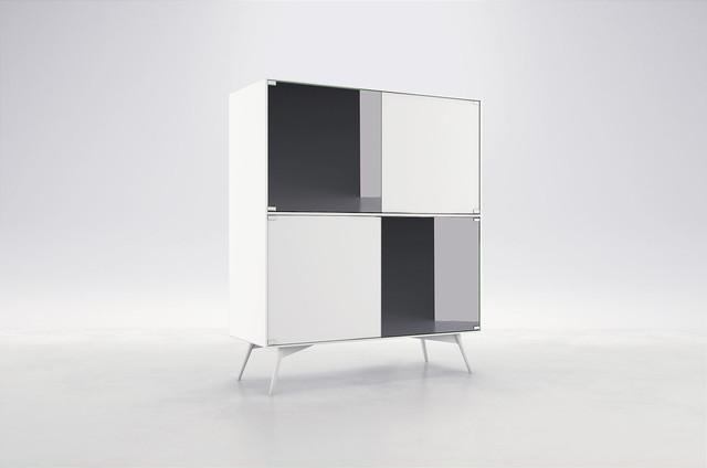 Christopher Highboard by ModLoft modern-buffets-and-sideboards