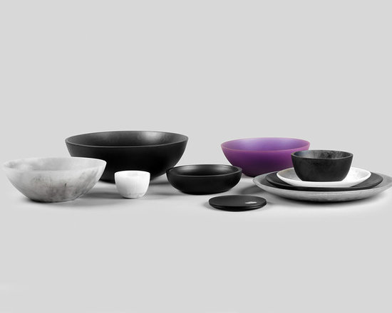 Martha Sturdy resin bowls - A well-designed bowl should always balance form and function — and the result should express a subtle harmony. From salad bowl to art piece you can toss your keys in, these objects become familiar luxuries to cherish for years.