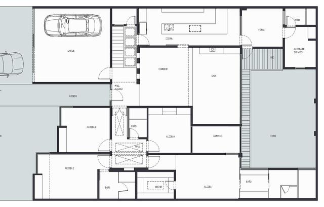 Malib house refurbishment for Malibu house plans