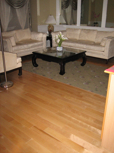 Chesterfield Maple Solid- Natural Maple modern-hardwood-flooring