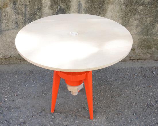 """Table Bolt - 1.Table """"Bolt"""" and extra base- Stool """"Bolt"""""""