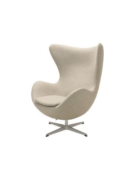 Neutral Egg Chair - The egg chair in neutral