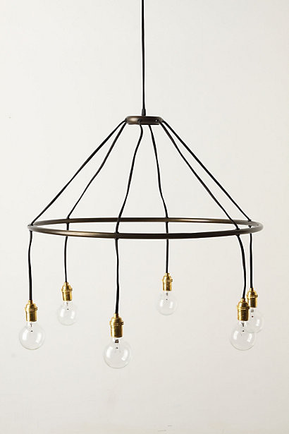 Halo Chandelier contemporary-chandeliers