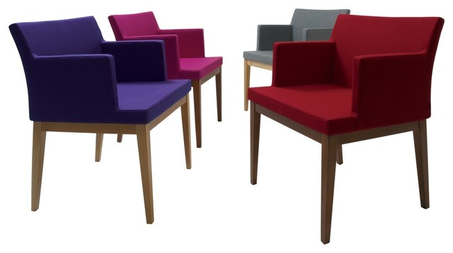 Soho Wood Arm Chair by sohoConcept contemporary-dining-chairs