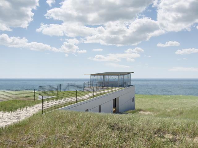 Truro Dune House contemporary