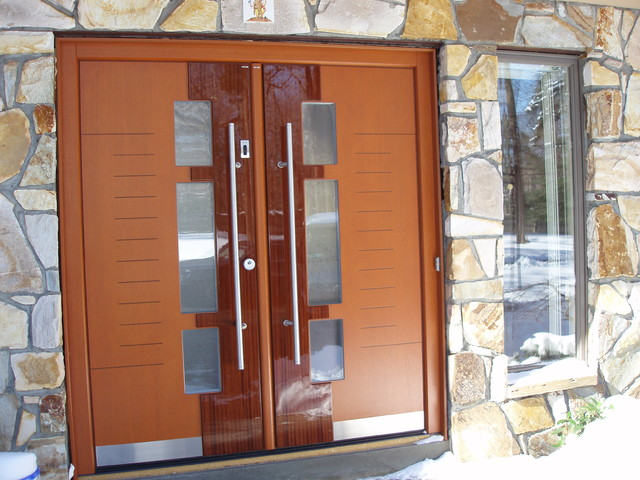 European doors, exterior & interior - Private residence in Muttontown, NY contemporary-front-doors