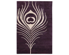 Thomaspaul - Feather Wool Pile Rug modern-rugs