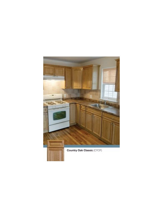 Country oak classic for Kitchen cabinets king