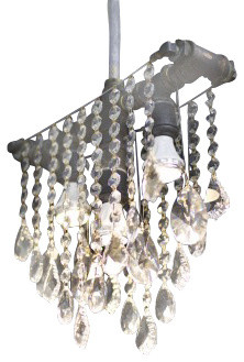 Outdoor Collection Crystal Pendant contemporary-pendant-lighting