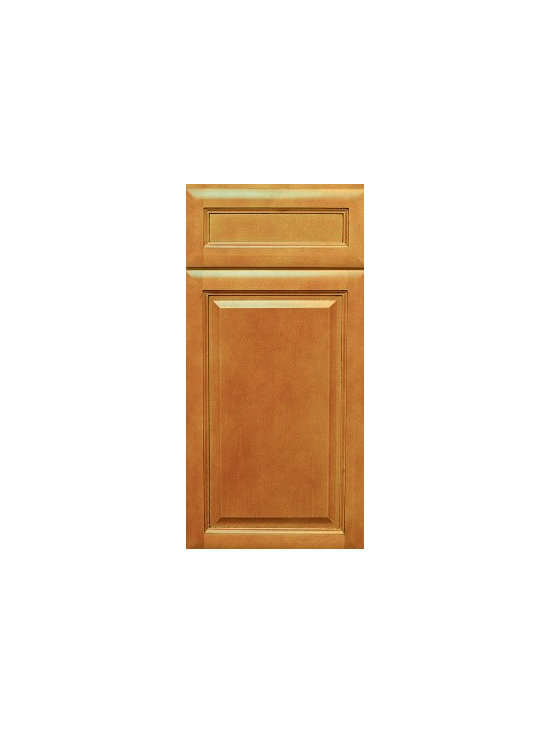 "HONEY / Assembled Kitchen Cabinets - Full Overlay Door Style - 3/4"" Solid Birch Face-Frame"