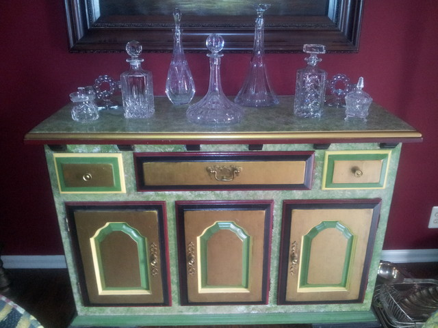Hand Painted Furniture eclectic-buffets-and-sideboards