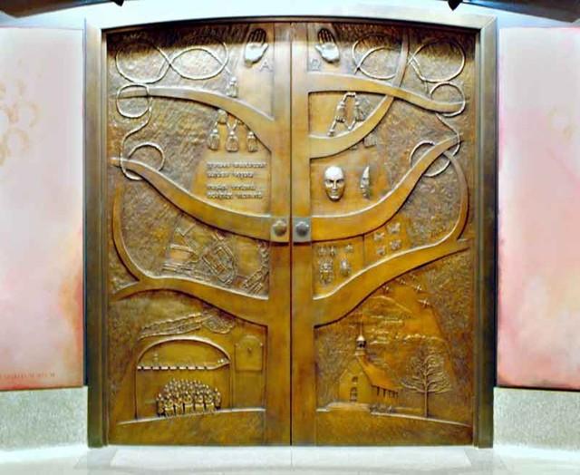 Custom Entry Doors - Asian - Furniture - phoenix