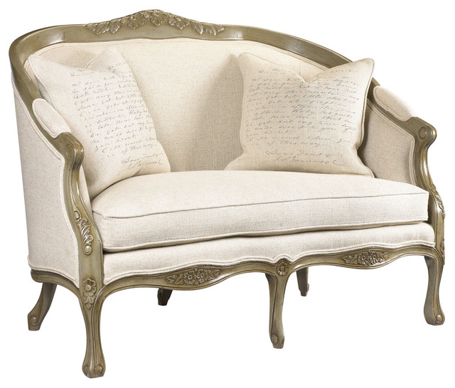 Camille Loveseat - Traditional - Loveseats - atlanta - by Belle ...