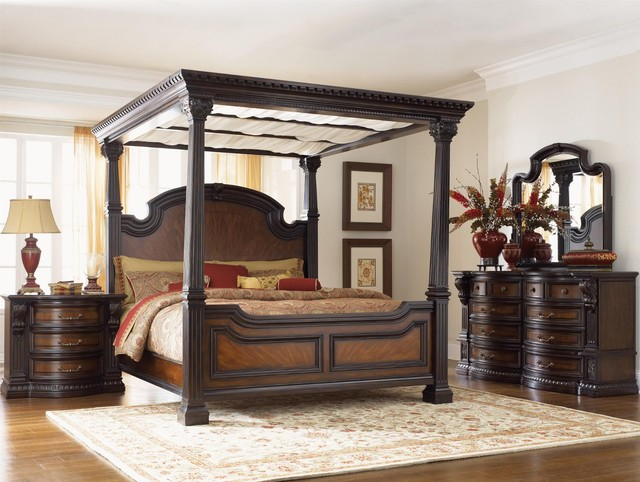 Fairmont designs grand estates bedroom collection for Grand bedroom designs