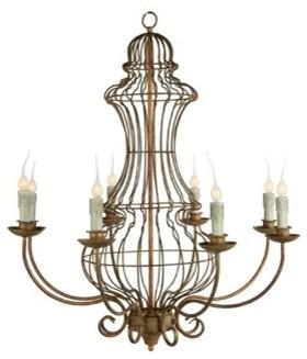 Genie Urn Chandelier contemporary-chandeliers
