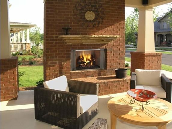 Heat & Glo Villawood Wood Fireplace