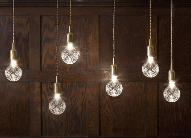 Crystal Bulb contemporary pendant lighting