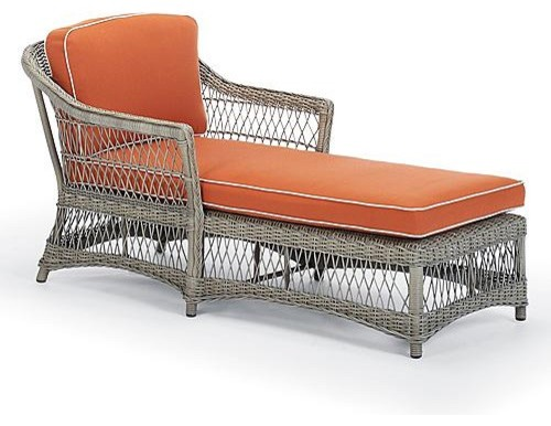 Campagna Outdoor Chaise Lounge Chair Cushion - Frontgate, Patio ...