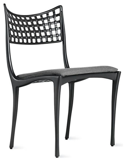 Sol y luna armless dining chair modern dining chairs