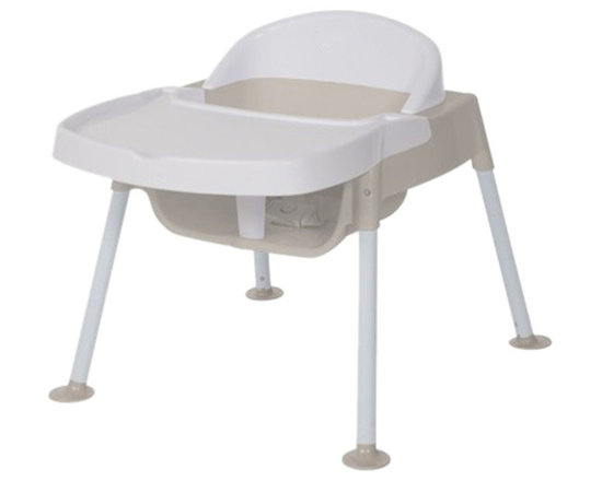"""Foundations - Foundations Secure Sitter Feeding Chair 7"""" Seat Height White/Tan - No Slip passive restraint prevents child from sliding out of seat. No tip feet provide stable base to keep chair securely on the floor. Chairs stack 4 high for space saving storage. No Slip passive restraint prevents child from sliding out of seat. No tip feet provide stable base to keep chair securely on the floor. Chairs stack 4 high for space saving storage."""