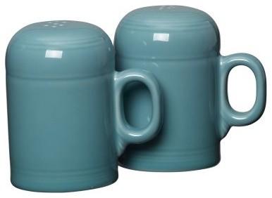 Fiesta Turquoise Rangetop Salt & Pepper Set modern-cooktops