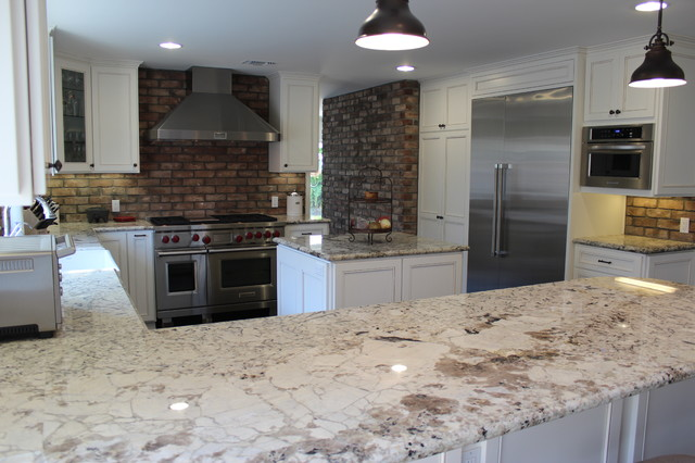 Various Interior D'Ambra Construction Projects traditional-kitchen