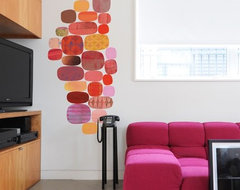 Blik Wall Decals: Radiant Velocity by Rex Ray modern artwork