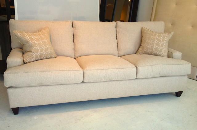 Weston Down Wrapped Sofa Transitional Sofas Atlanta