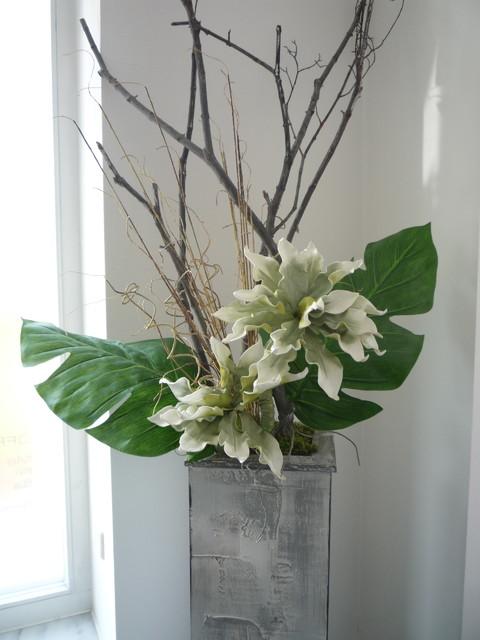 Floral arrangement modern home decor other metro by annemarie