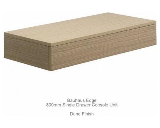 Bauhaus Edge Single Drawer Console Units -
