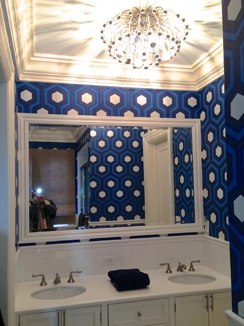House of Blues modern-bathroom
