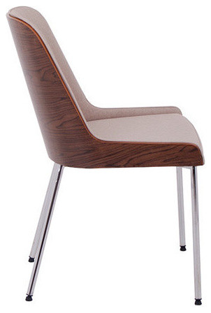 Hudson Plywood/ Metal Base Chair by Nuans Design modern-dining-chairs