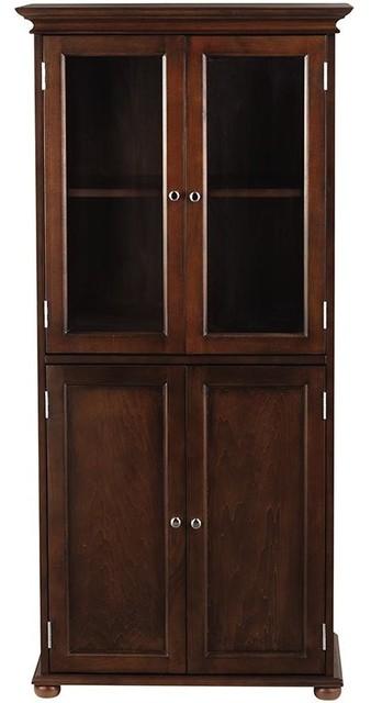 Hampton Bay Tall Cabinet Traditional Bathroom Cabinets