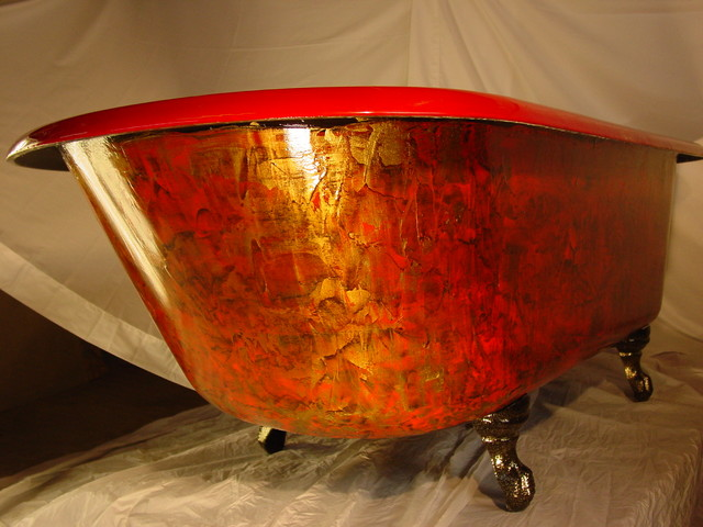 PRO PICS OF THE RED TUB Traditional Nashville By Kevins Custom Claw Foo
