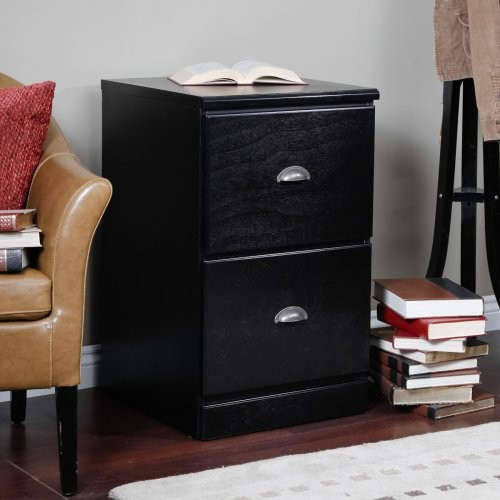 Foremost Ventura Custom Two Drawer Filing Cabinet - Black - Contemporary - Filing Cabinets - by ...